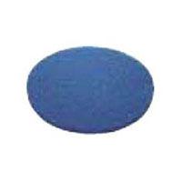 山崎産業 ポリッシャー用替ブラシ シックラインフロアパック 13インチ 青(表面洗浄用)(5枚入) E1713BL