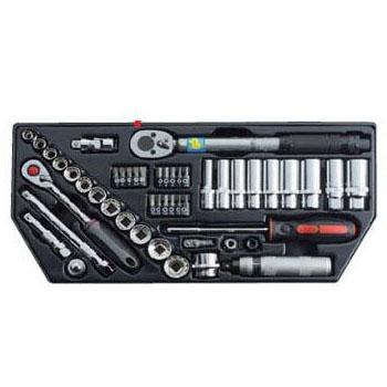 SEK(スエカゲ) Pro-Auto49PC.スプラインソケットセット(差込角9.5mm) PA849
