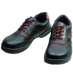 シモン 安全短靴シモンライト SL11-R黒/赤 24.0cm SL11R24.0