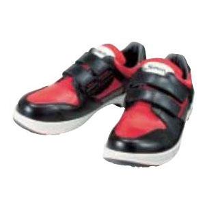 シモン 安全短靴トリセオ マジックタイプ 赤/黒 25.5cm 8518REDBK25.5