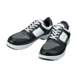 シモン 安全短靴トリセオ 黒/グレー 27.5cm 8512BKGR27.5