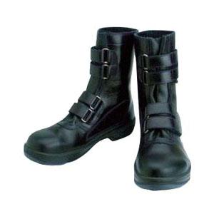 シモン 安全靴 長編上靴マジック式 8538N 黒 24.0cm 8538N24.0