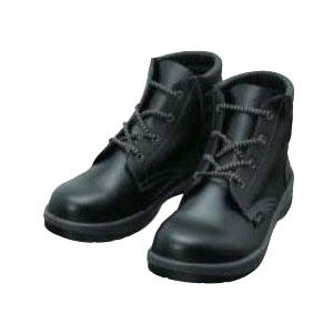 シモン 安全靴 編上靴 7522N 黒 24.5cm 7522N24.5
