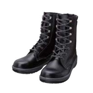 シモン 安全靴 長編上靴 7533N 黒 24.0cm 7533N24.0