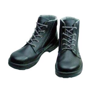 シモン 安全靴 中編上靴 SS22黒 24.5cm SS2224.5