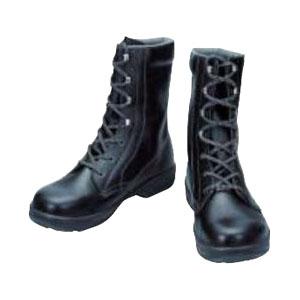 シモン 安全靴 長編上靴 SS33黒 24.5cm SS3324.5
