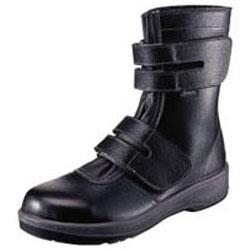 シモン 安全靴 長編上靴 黒 25.5cm 7538BK25.5