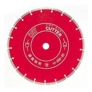 ツボ万 ダイヤモンドカッタードライ305 外径305×厚3.0×チップ幅7.5 取寄せ品 DRY305×30.5(H)