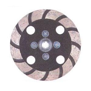 ツボ万 NVポリッシャー 外径100×チップ厚3×チップ幅13×穴径M10ネジ 取寄せ品 NV-100