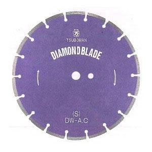 ツボ万 ダイヤモンドカッター「大口径ブレード」S型 外径8インチ×厚2.0×チップ幅7【取寄せ品】 S-8×7×25.4