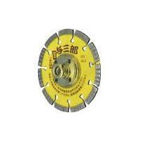 ツボ万 ダイヤモンドカッター与三郎ネジ付 外径125×厚2.2×チップ幅7×穴径M16 取寄せ品 YB-125B