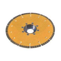 ツボ万 ダイヤモンドカッター与三郎180オフセット型 外径180×厚2.0×チップ幅7 取寄せ品 YB-180C