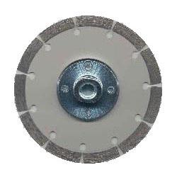 ツボ万 ダイヤモンドカッターDRY2000ネジ付 外径125×厚2.0×チップ幅7 取寄せ品 DRY2000-125B(M10)