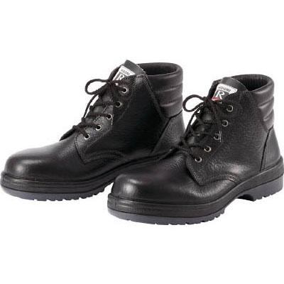 ミドリ安全 ゴム2層底 ラバーテック安全中編上靴 25.0cm RT92025.0