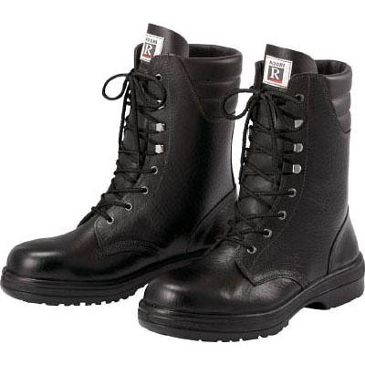 ミドリ安全 ゴム2層底 ラバーテック安全長編上靴 25.0cm RT93025.0