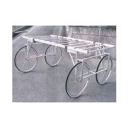 ナガノ アルミ製安心の収穫台車 強力タイプ【メーカー直送品】 DBS-2000