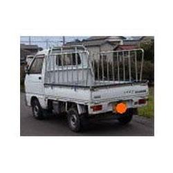 ナガノ アルミ製軽さく 普通車用二方 高さ1200mm 荷台の長さ2300~2450【メーカー直送品】 ZN-2350
