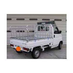 ナガノ アルミ製軽さく 普通車用三方 高さ1200mm 荷台の長さ2300~2450【メーカー直送品】 ZN-2350B
