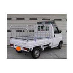 ナガノ アルミ製軽さく 普通車用三方 高さ1200mm 荷台の長さ2700~2850【メーカー直送品】 ZN-2750B