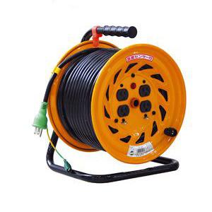 日動 標準型電工ドラム(屋内型)50m 100Vアース付 NF-E54