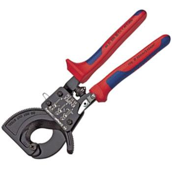 KNIPEX(クニペックス) ケーブルカッター(ラチェット式)切断能力径32mm 9531-250