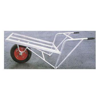 ナガノ アルミ角パイプー輪車 760×540mm【メーカー直送品】 DAB-760
