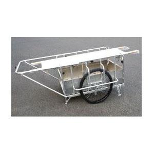 ナガノ アルミ合金製折畳リヤカー担架用フリーキャンパたすけ 耐荷重350kg【メーカー直送品】 DCR-1280T