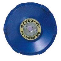 ダイヤシェーバー 塗膜はがし ブルー 100×M10 6S ナニワ研磨工業 FN9213