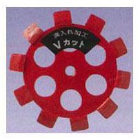 ナニワ研磨工業 レッドVカット 100×10×M10 NP5271