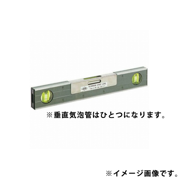 KOD 受注生産 調整付精密アルミレベル 1Div=1.0mm/m(200秒)±10% 300mm L-150Aj2