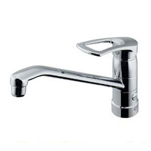 カクダイ シングルレバー混合栓(分水孔つき) 1個価格 117-063-180 117-063-180