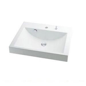 カクダイ 角型洗面器 1個価格 ※メーカー直送品 493-072H