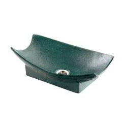 カクダイ 舟型手水鉢(濃茶)(1本価格) 624-934 624-934