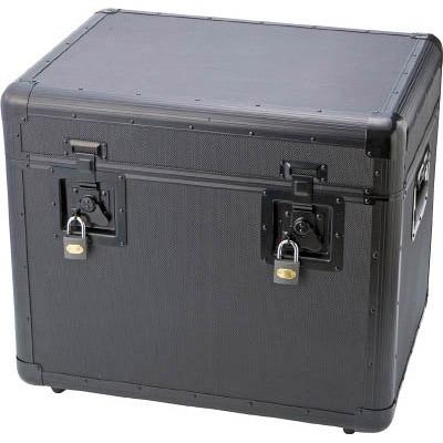 トラスコ 万能 万能アルミ保管箱 黒 543×410×457 TAC540BK