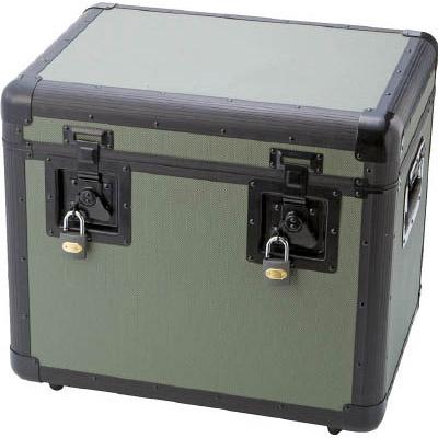 トラスコ 万能 万能アルミ保管箱 オリーブドラブ 480×360×410 TAC480OD