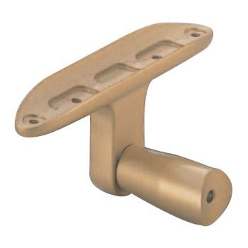 シロクマ ビームブラケット受 35mm径 メン シルバー 1箱10個価格 ※メーカー取寄品 ABR-806