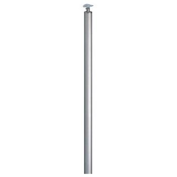 支柱 受 埋込式 鏡面磨 1本価格 ※メーカー取寄品 シロクマ ABR-709U