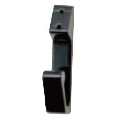 シロクマ アルミ V形フック 6 黒 1箱120個価格 ※メーカー取寄品 A-15