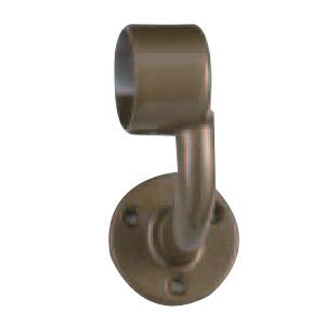ステン A形ブラケットL止 右 32mm径 アンバー 1箱6個価格 ※メーカー取寄品 シロクマ ABR-102R