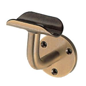 シロクマ L軸ブラケット(受)32mm サテンゴールド 1箱6個価格 ※メーカー取寄品 BR-22