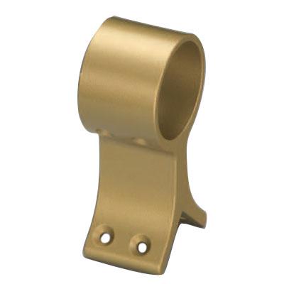 アルミ異形ブラケット出隅通 35mm径 AGアンティークゴールド 1箱20個価格 ※メーカー取寄品 シロクマ BR-84