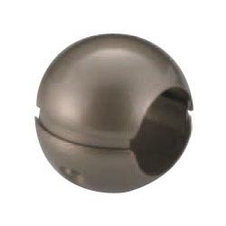 どこでもグリップボール形 35 アンバー 1箱10個価格 ※メーカー取寄品 シロクマ BR-63