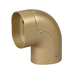 シロクマ 小判形ブラケットエンド 32×50 AGアンティークゴールド 1箱10個価格 ※メーカー取寄品 BR-210