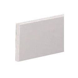 ブラケットベース 120巾×2000 アイボリ 1箱5枚価格 ※メーカー直送品 シロクマ BR-900