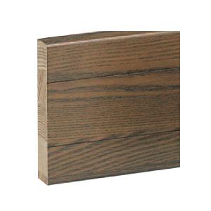 ブラケットベース 80巾×2000 ミディアムオーク 1箱5枚価格 ※メーカー直送品 シロクマ BR-920