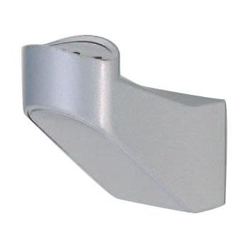 シロクマ SP形ブラケットL受 35mm径 シルバー 1箱10個価格 ※メーカー取寄品 BR-629