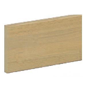 シロクマ ブラケットベース 100巾×2000 ライトオーク 1箱5枚価格 ※メーカー直送品 BR-900