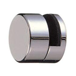 シロクマ 真鍮 ラウンド鏡受 25mm径 クローム 1箱12個価格 ※メーカー取寄品 BT-10