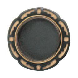 シロクマ さざんか赤銅 鉄 大 焼付塗装 1箱50個価格 ※メーカー取寄品 T-349