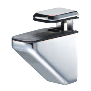 シロクマ 棚グリップH形 L クローム 1箱10個価格 ※メーカー取寄品 TG-7